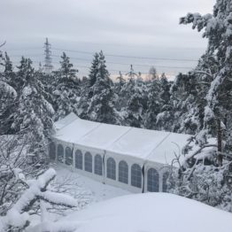 Hyra tält vinter